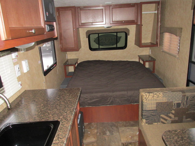 Ultra Light Travel Trailers >> 2016 FOREST RIVER VIKING 17FQ