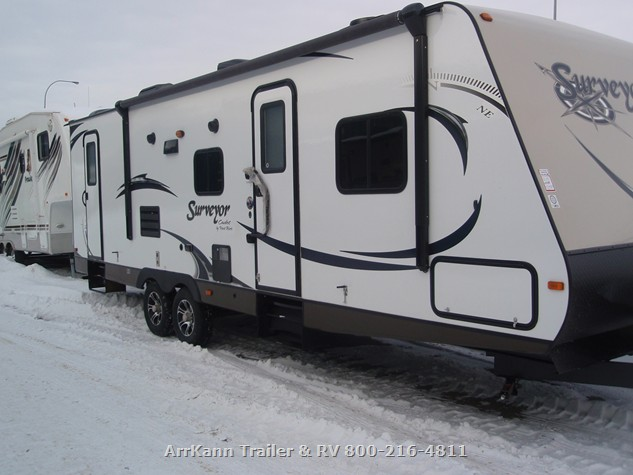 2014 Travel Trailer Forest River Surveyor Sc291bh