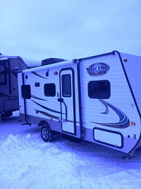 2015 FOREST RIVER VIKING 17RD