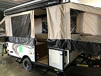 2018 FOREST RIVER CLIPPER 107 LS