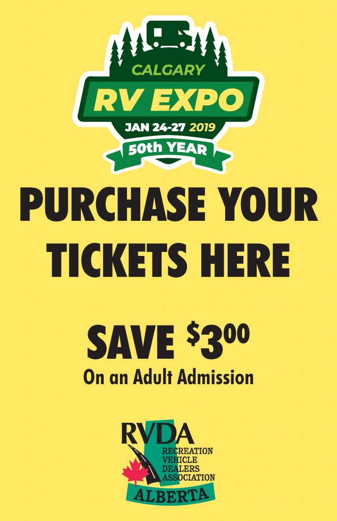 RV Show Pre-Sale Tickets