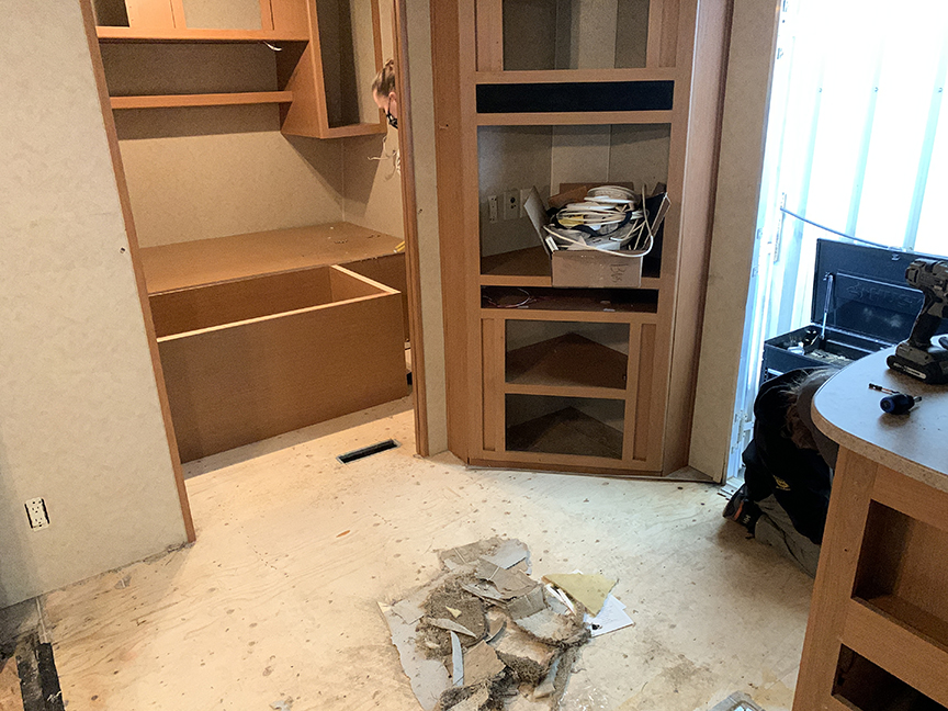 RV Reno Project Part TWO!